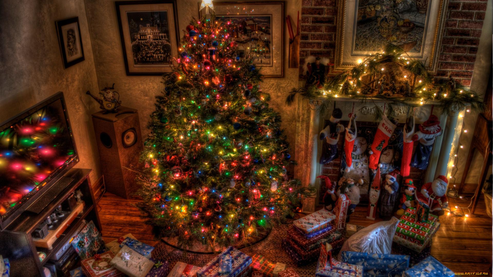 Рождественское фото на рабочий стол